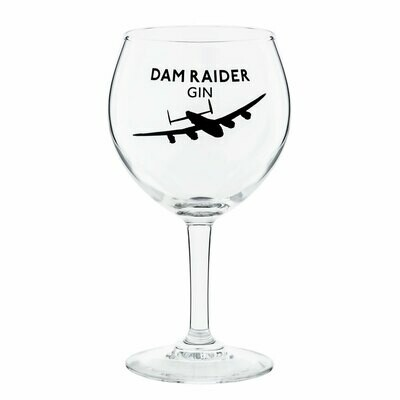 Dam Raider Balloon Glass