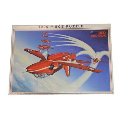 "Red Arrows ""inverted"" 1000 piece jigsaw puzzle"