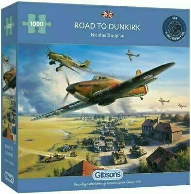 The Road to Dunkirk 1000 piece Jigsaw Puzzle