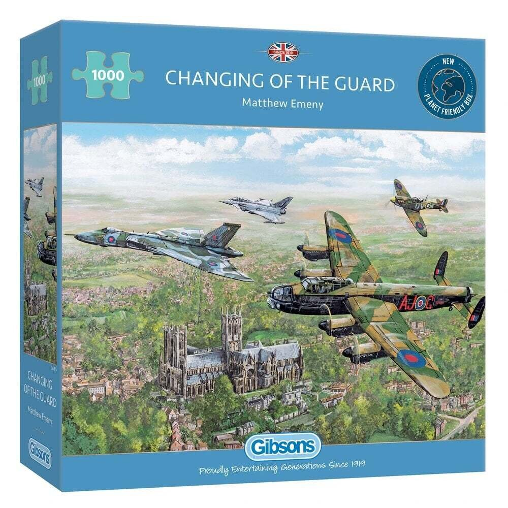 Changing of the Guard 1000 piece jigsaw