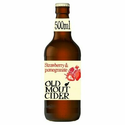 Cider - Old Mout Strawberry & Pomegranate 500ml (chilled)