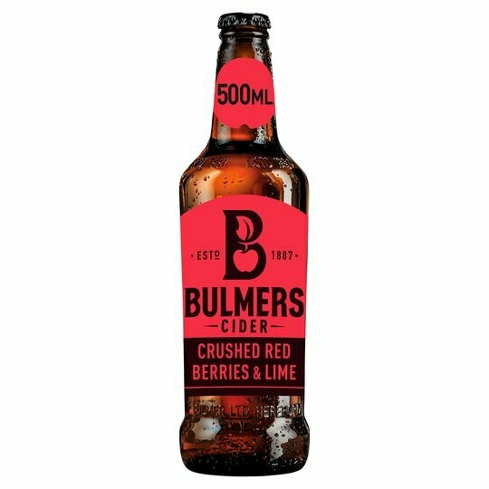 Cider - Bulmers Fruit 500ml (chilled)