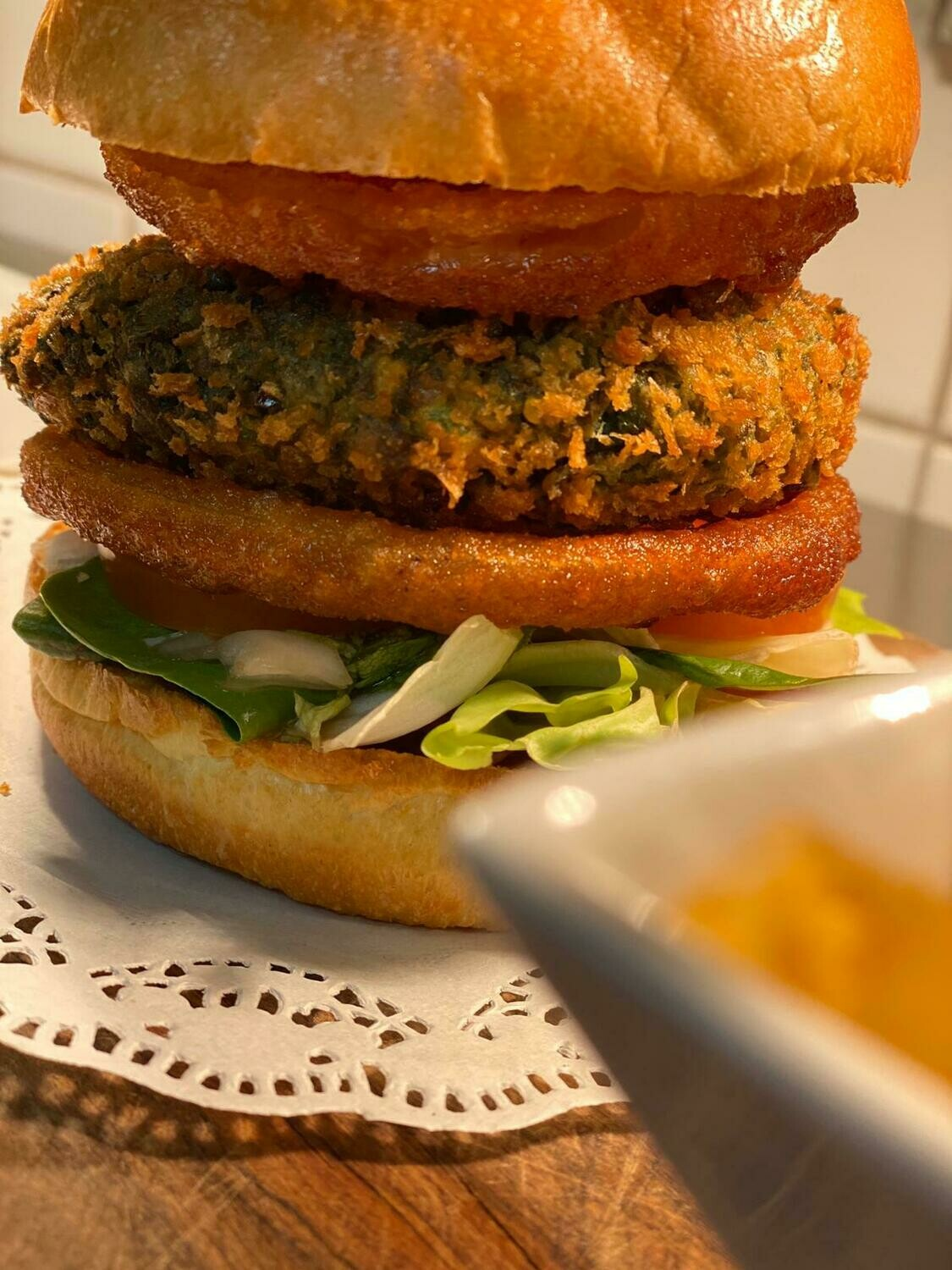 Garden Green Vegan Burger (Ve)