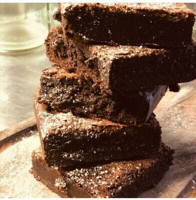 Dark Chocolate Fudge Brownie