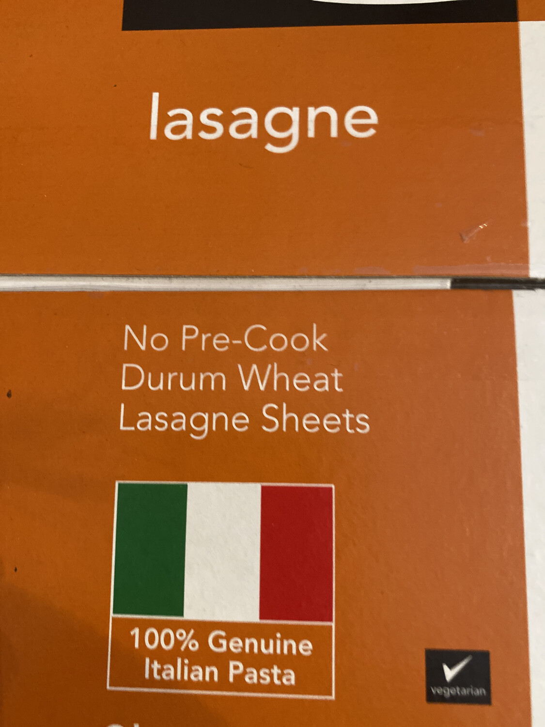 Lasagne Pasta Sheets 500g Box