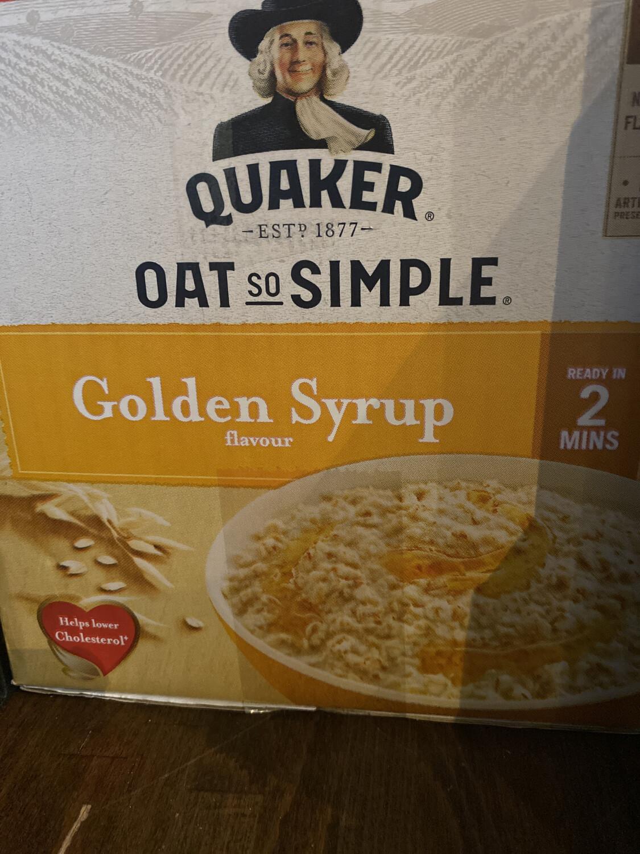 Quaker Oats 20x 30g Sachet Box