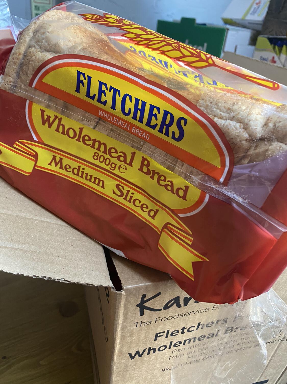 Fletchers wholemeal Medium Sliced Loaf ( frozen)