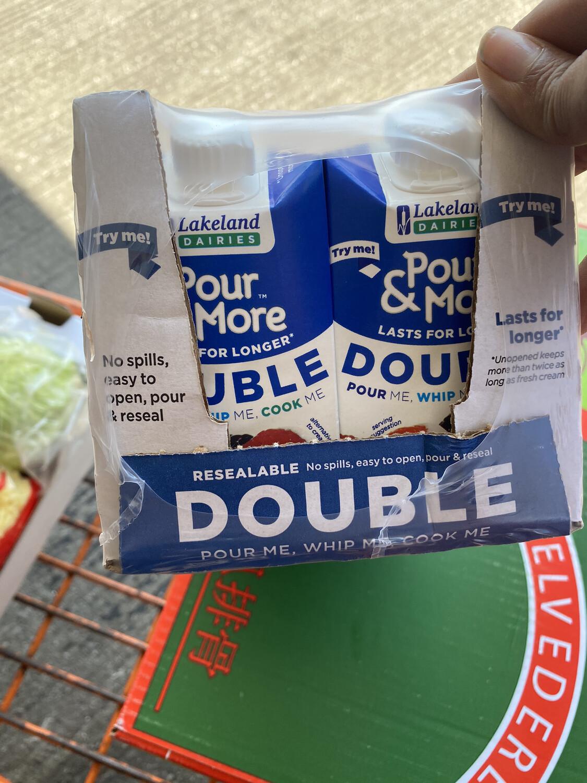 Lakeland Double Cream 250ml