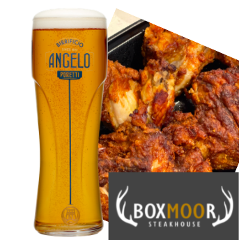 Draught Pint Lager AND 3x Buffalo Wings