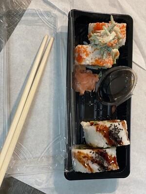 Sushi ( Chicken Katsu, Salmon Californian)