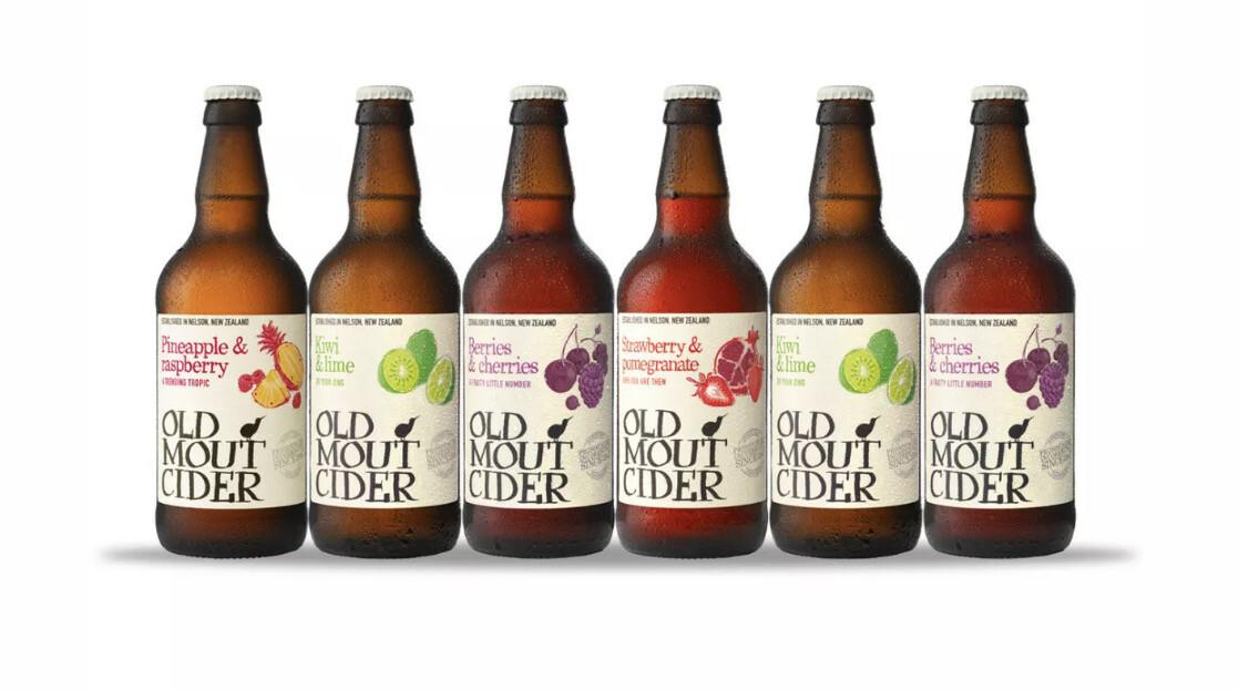 Cider - Old Mount Fruit 500ml (chilled)