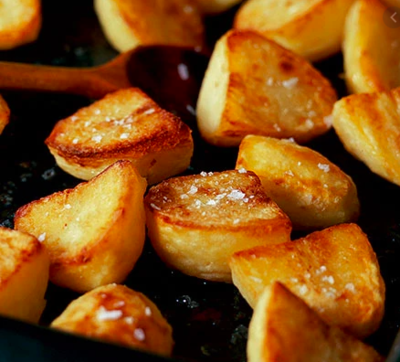 Roast Potatoes Side (Ve)