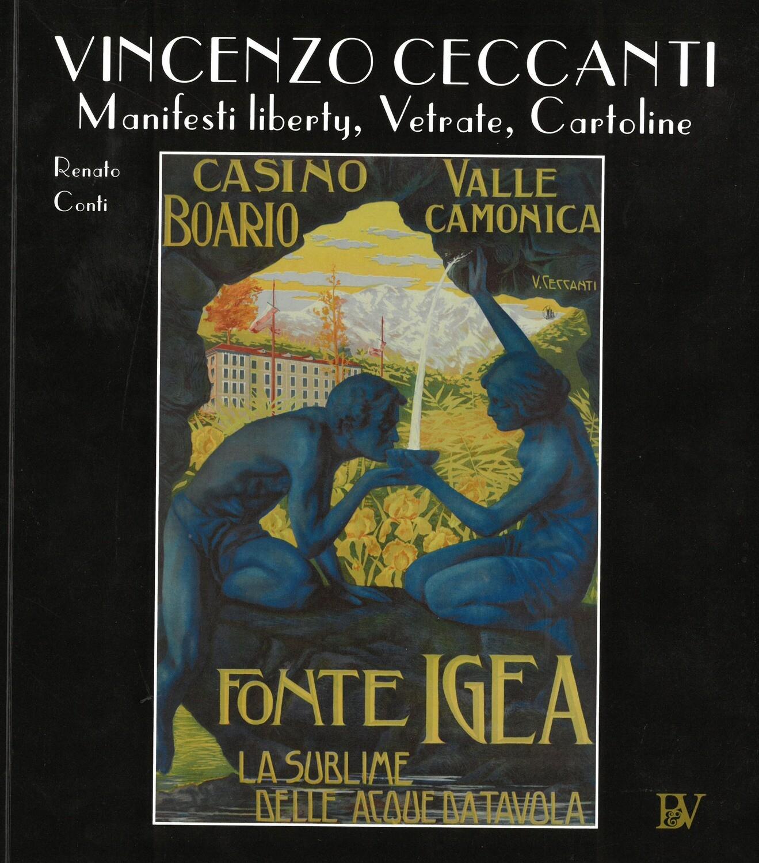 VINCENZO CECCANTI - Manifesti liberty, Vetrate, Cartoline