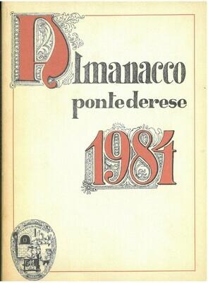 ALMANACCO PONTEDERESE 1984