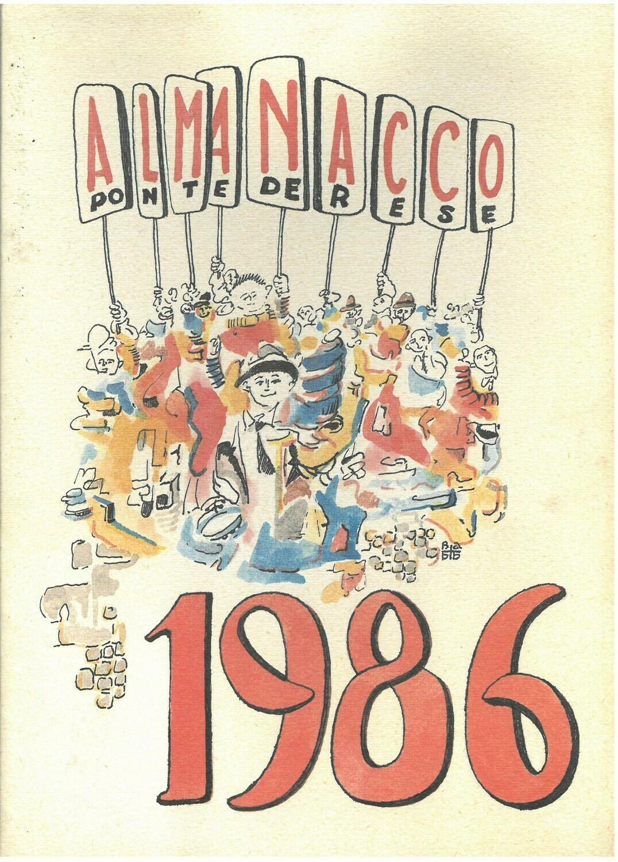 ALMANACCO PONTEDERESE 1986