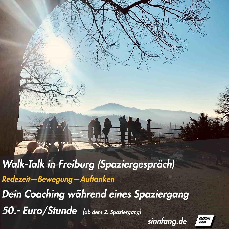 WalkTalk dein Spaziergespräch in Freiburg