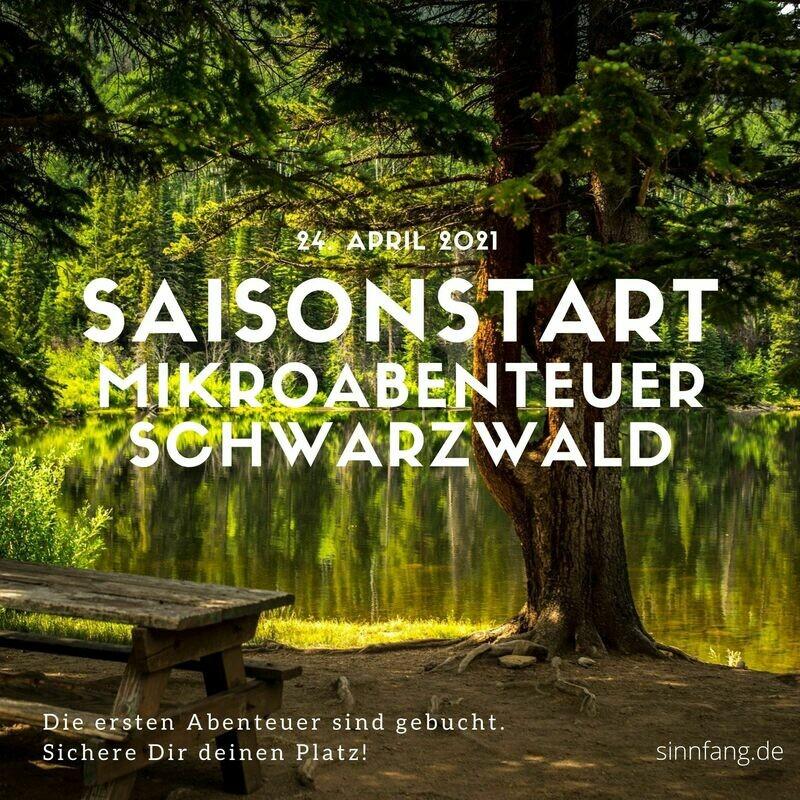 Mikroabenteuer Schwarzwald 2021