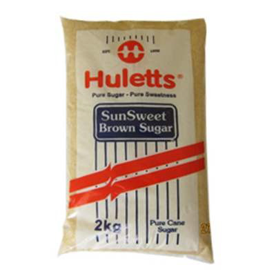 HULETTS  BROWN SUGAR 2KG