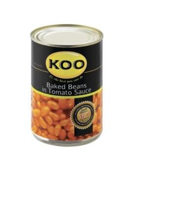 KOO BAKED BEANS IN TOMATO SAUCE (410G)