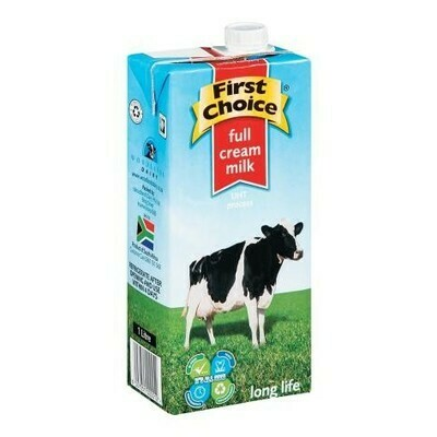 FIRST CHOICE FULL CREAM MILK 1L