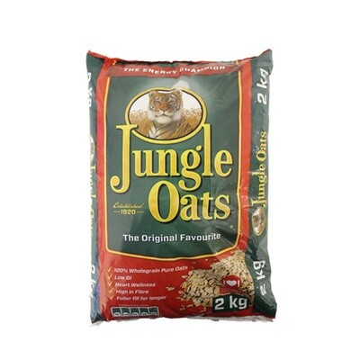 FLAVOURED JUNGLE OATS PORRIDGE (1KG)