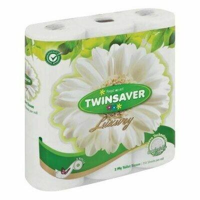 TWINSAVER (2PLY)TOILET PAPER 9 ROLLS