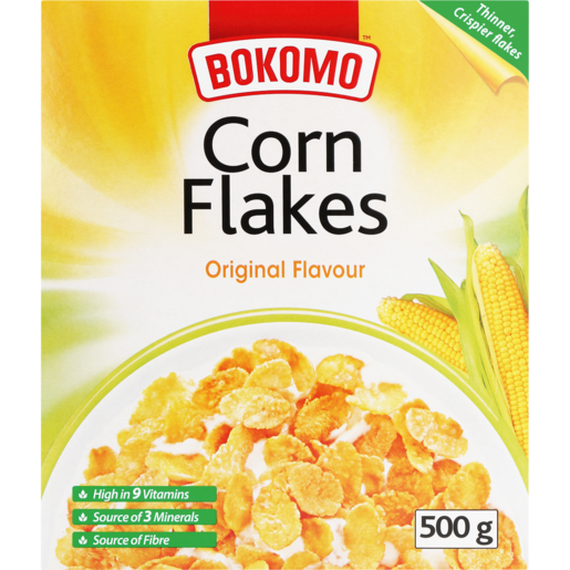BOKOMO CORNFLAKES  ORIGINAL 500G