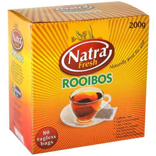 NATRA FRESH ROOIBOS BAGS BOX 80'S