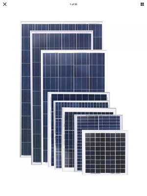POLY/ MONO CANADIAN SOLAR PANELS 330/340watts