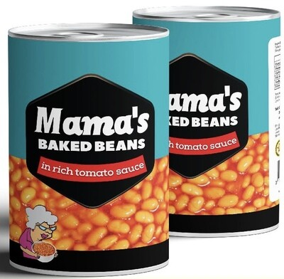 MAMA'S BAKED BEANS 410G