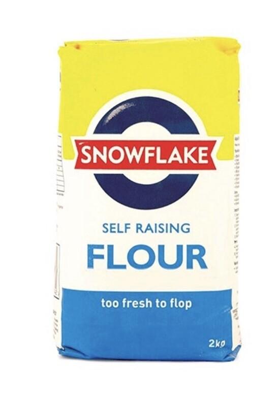 SNOWFLAKE SELF RAISING WHEAT FLOUR 2.5KG