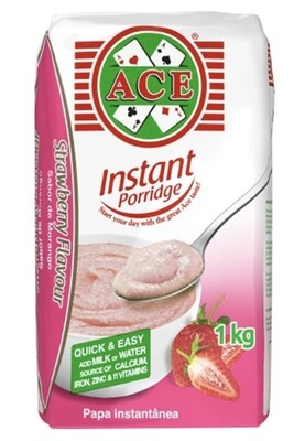 ACE INSTANT PORRIDGE STRAWBERRY 1KG