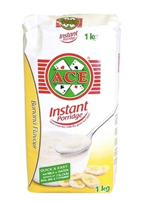 ACE INSTANT PORRIDGE BANANA 1KG