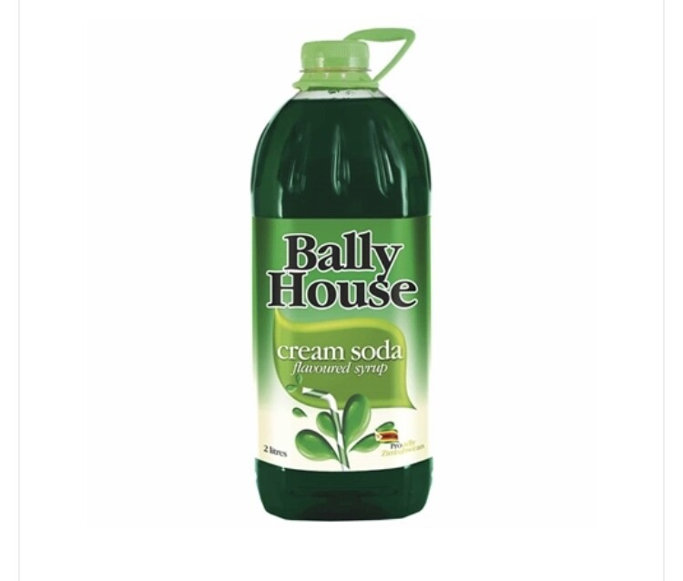 BALLY HOUSE CREAMSODA SYRUP 2L
