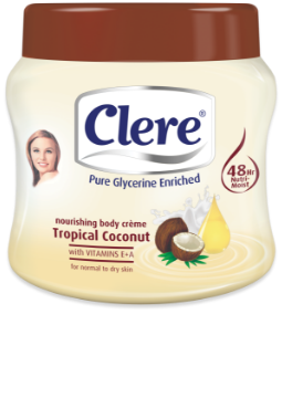 CLERE TROPICAL COCONUT CRM 500ML