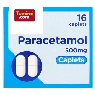 PARACETAMOL TABLETS 500MG 16 PACK x2