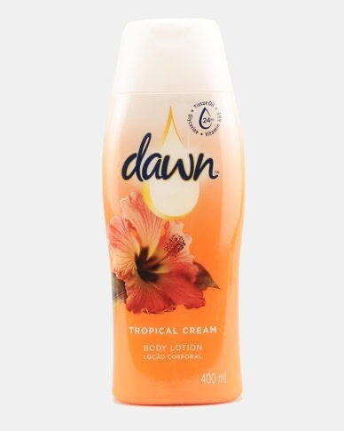 DAWN TROPICAL CREAM LOTION 400ML