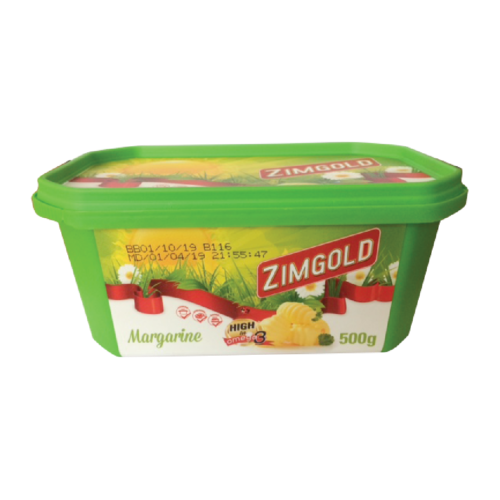 ZIMGOLD MARGARINE TUB 500G