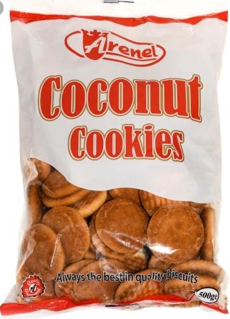 ARENEL COCONUT COOKIES  500G