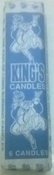 KING CANDLES 6s/400G