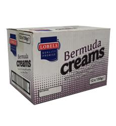 LOBELS BERMUDA CREAMS 150G  X12