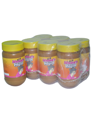 MAMA'S PEANUT BUTTER 375ML X6