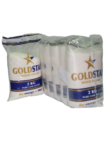 GOLDSTAR WHITE SUGAR 2KG X10