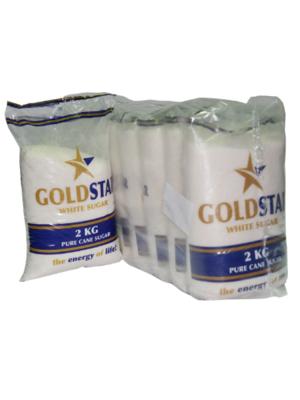 GOLDSTAR WHITE SUGAR 2KG X10