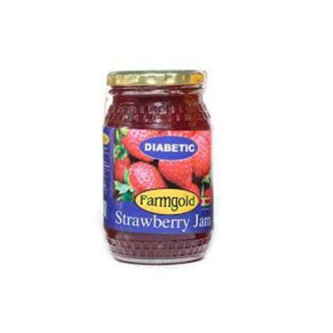 FARMGOLD STRAWBERRY JAM 450G (Good for Diabetics)