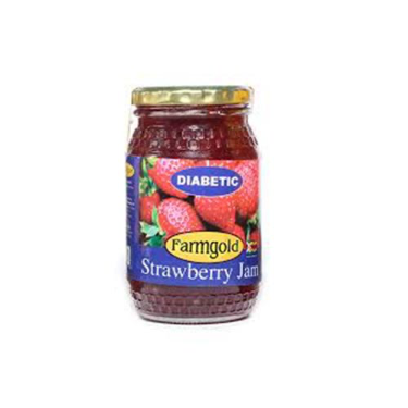 FARMGOLD STRAWBERRY JAM 450G (Good for Diabetics)