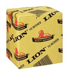 LION MATCHES 10s