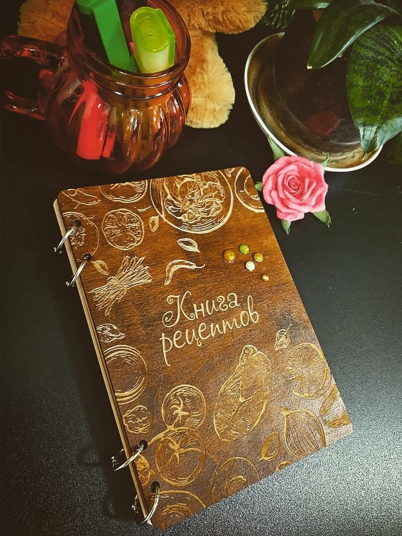 Книга рецептов, формат А5