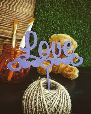 Love /лиловые сердца
