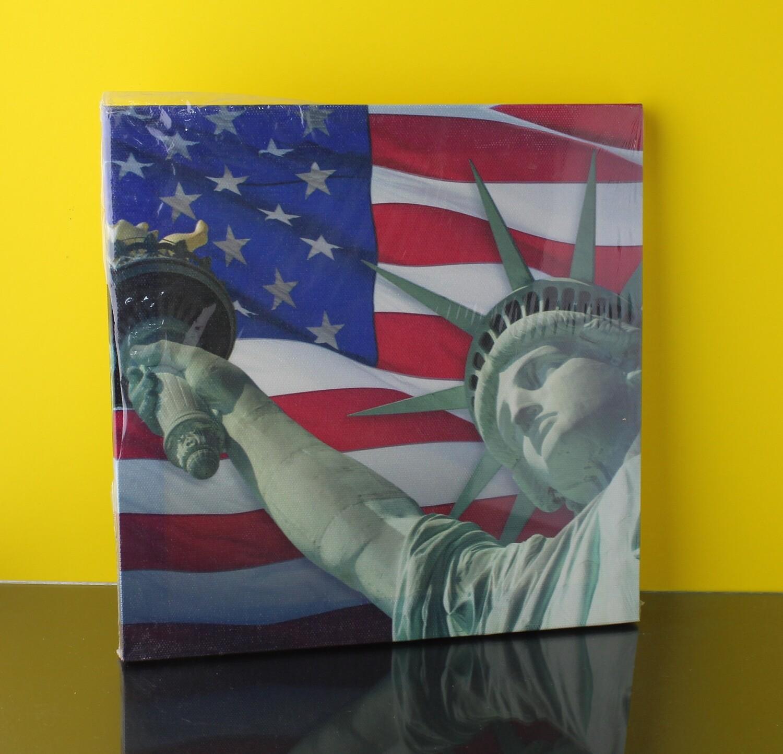 "Холст ""America"" 20x20см"